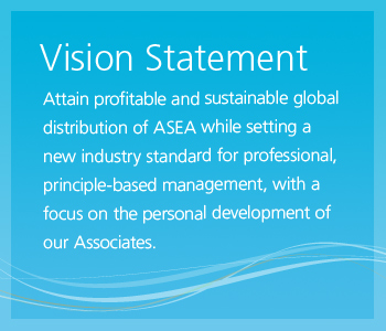 sustainable global distribution of ASEA