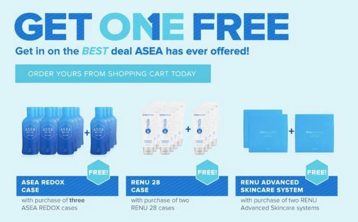 ASEA buy one get one free