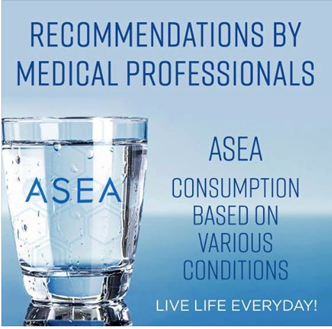consuming different amounts of ASEA - recommendations by medical professionals
